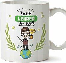 Mugffins Lehrer Tasse/Becher/Mug Geschenk Schöne