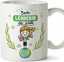 Mugffins Lehrerin Tasse/Becher/Mug Geschenk