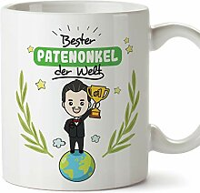 Mugffins Patenonkel Tasse/Becher/Mug - Bester