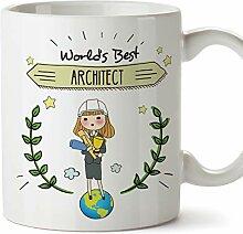 MUGFFINS (Tasse auf Englisch) Architect Original