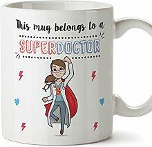 MUGFFINS (Tasse auf Englisch) Arzt. Original