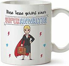 MUGFFINS Tasse/Becher Anwältin (Superhelden) -