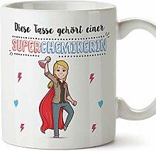 MUGFFINS Tasse/Becher Chemikerin (Superhelden) -