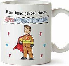 MUGFFINS Tasse/Becher Feuerwehrmann (Superhelden)