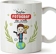 MUGFFINS Tasse/Becher Fotograph (Beste der Welt) -