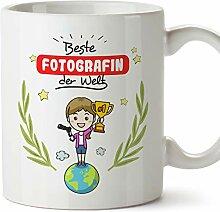 MUGFFINS Tasse/Becher Fotographin (Beste der Welt)