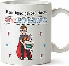 MUGFFINS Tasse/Becher Informatiker (Superhelden) -