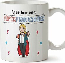 MUGFFINS Tasse/Becher Super Teacher CAT (auf