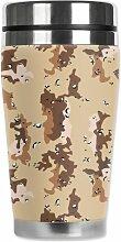 Mugzie Marine Camouflage Travel Mug with Insulated