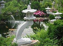 Mui Garten Dekor Japanische Steinlaterne Gartenlaterne Rankei Garden Decor