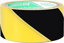 Mujin Warnband PVC gelb schwarz