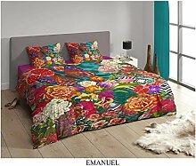 Muller Textil Mako Satin Digitaldruck Bettwäsche