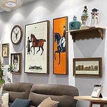 Multi-Bilderrahmen-Wand-Set Bilderrahmen-Set mit 4