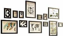 Multi Bilderrahmen Wand Set, DIY Home