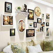 Multi-Bilderrahmen-Wand-Set Holz-Bilderrahmen-Set
