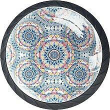 Multi-Color Boho PatternSchrankknöpfe