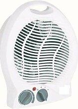 Multi Klima ventilator Standventilator mit Heizung weiß 2 Heizstufen 230 V Kühler Raum-Lüfter Luft-Erfrischer Lüftung