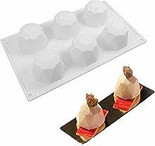 multi-shaped Silikon Kuchen Fondant Form Mousse
