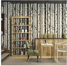 Multi-wallpaper 3D Baum Holz Tapete