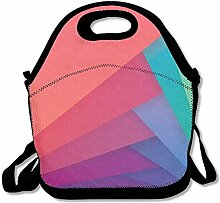 Multicolor Unisex Lunch Box Food Bag Lunch Bag For