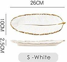 Multifunktion Weiße Bananenblattform