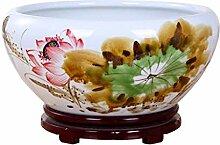Multifunktionale keramische Fischtank Keramik Pot