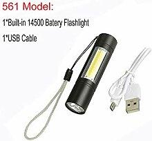 Multifunktionale LED-Taschenlampe,