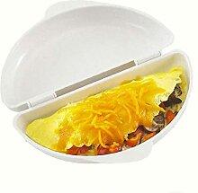 Multifunktionale Mikrowelle Omelett Herd Pan