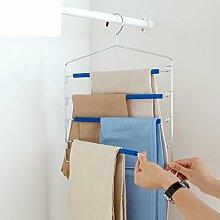 Multifunktionelle Hose Hängende Hose Rack Anti-rutsch Kleiderbügel Haushalt Schrank Lagerung Hose Rack