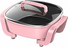 Multifunktions-Elektro-Hot Pot Grill Topf Haushalt