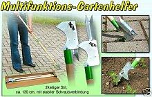 Multifunktions-Gartenhelfer: Unkrautstecher & Fugenreiniger
