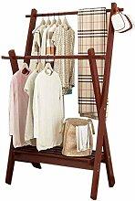Multifunktions-Holzkleiderständer Kleiderbügel