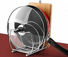 Multifunktions-Küchenregal, Edelstahl,