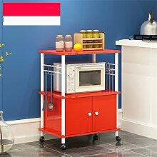 Multifunktions-Küchenregal Kreative Küche Regal Mikrowellenofen Regal Multi-Regal Multifunktions-Regal Regal Regalboden Regal (Zweite Etage) CHUFZWJ- Kitchen Storage rack and Shelf ( Farbe : B , größe : 1 )
