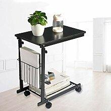Multifunktionstisch, rollendes Rad Tray Table, mit