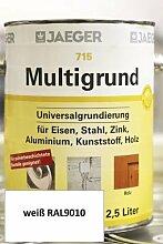 Multigrund 715 weiß RAL9010 2,5l JAEGER