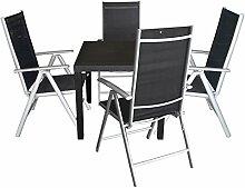 Multistore 2002 5tlg Balkonmöbel Set Sitzgruppe