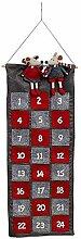 Multistore 2002 Adventskalender Mäuse aus Textil,