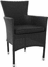st hle aus rattan g nstig online kaufen lionshome. Black Bedroom Furniture Sets. Home Design Ideas