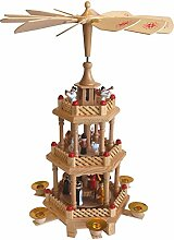 Multistore 2002 Weihnachtspyramide Holzpyramide