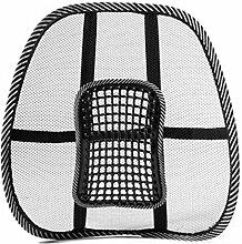 muluo Mesh Back Lendenwirbelstütze Massage Perlen für Auto Sitz Stuhl Massage Kissen
