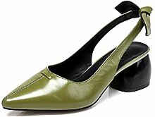 MUMA Grob mit Frauen Singles Schuhe 2018 Schwarz