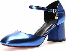 MUMA Pumps Rough mit einzelnen Schuhen weibliche