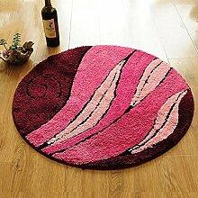 MuMa Stilvolle Einfachheit runden Teppich