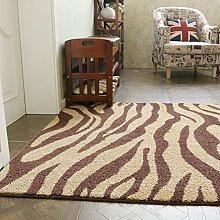 MuMa Teppich Europäischen Zebra Muster Tür