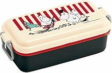 Mumin Skater Emaille-Stil Lunchbox 1-stufig