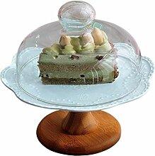 MUMUMI Geschirr, Hotel Sandwich Salat-Tablett Glas