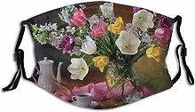Munds-chutz Gesichtss-chutz Kaffee Bouquet Blume