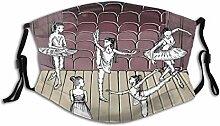 Mundschutz Tanz-themenorientiertes Bild der
