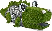 Mundus Dekoration Dundee das Krokodil, grün und grau